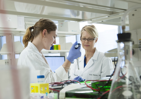 Our lab investigates genetic and epigenetic markers of Alzheimer disease.
